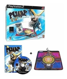 Tapete De Baile Pump It Up Ps2/pc Juego+ Adaptador Nuevo