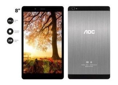 Tablet Aoc A831l-d 4g 2ram 16gb Almac 8 Aluminio Android 7.0