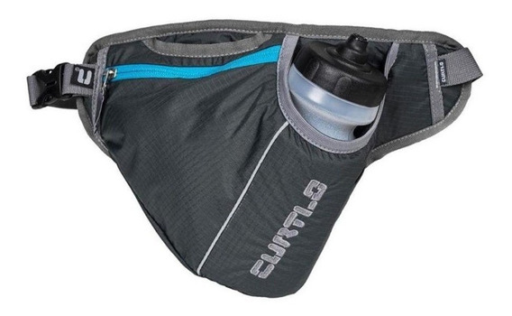 Cinto Pochete P/ Hidratação Curtlo X-run 500ml Cinza