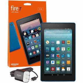 Tablet Amazon Fire Hd7 8gb 7 Alexa + Capinha Preto