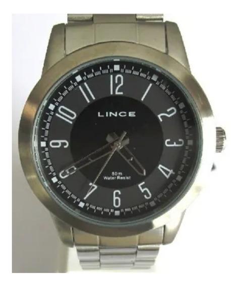 Relógio Masculino Lince Analógico Aço Garantia Frete Grátis