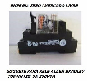 Soquete Para Rele Allen 700-hn122 5a 250vca Cod.soq2201