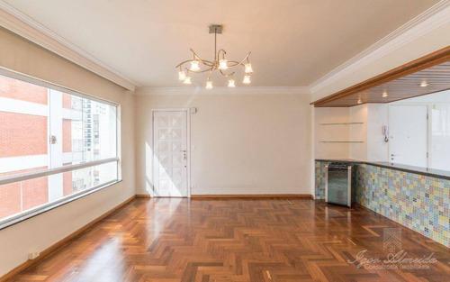 Apartamento Com 3 Dormitórios À Venda, 108 M² Por R$ 1.300.000,00 - Higienópolis - São Paulo/sp - Ap37105