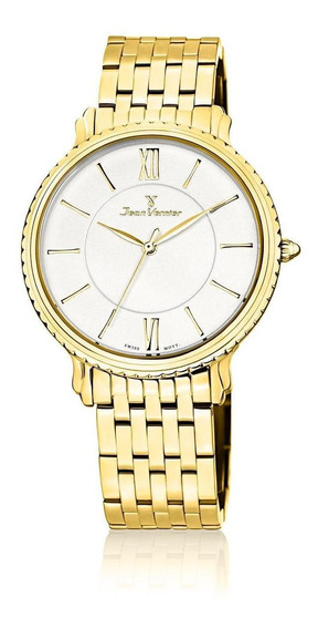 Relógio Pulso Jean Vernier Casual Suíço Unissex Jv01025
