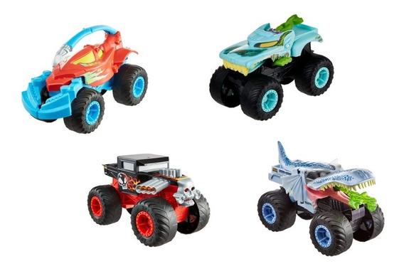 Hot Wheels Monster Trucks Transformables Surtido