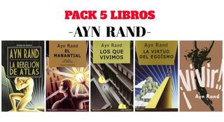 Ayn Rand - La Rebelion De Atlas + 4 Libros