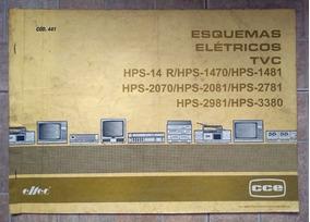 Esquemário Antigo Tv Cce Cod. 441 Vários Modelos