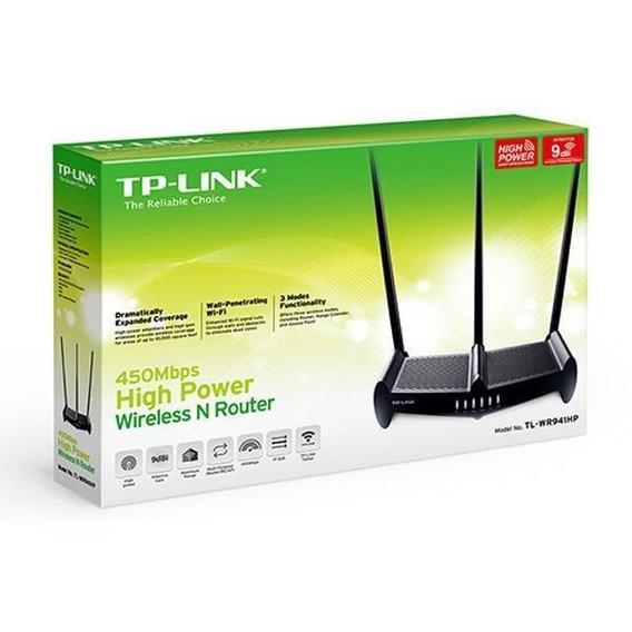 Roteador Wireless Tplink Tl-wr941hp 3 Antenas 8dbi 450mbps