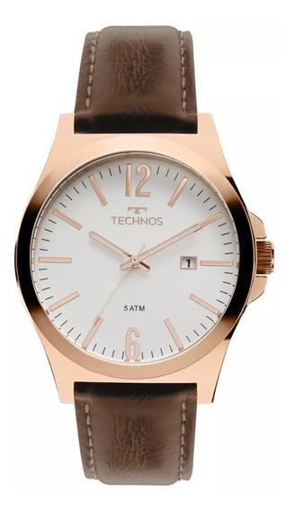 Relógio Technos 2115mmu/5b Masculino Steel