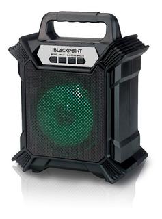 Parlante Portátil Black Point S19 Bt - Usb - Radio Fm -luces