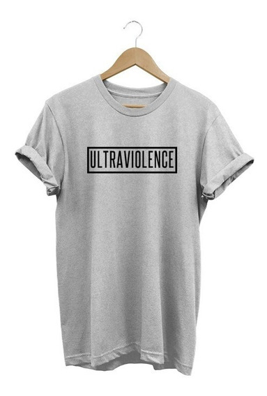 Camiseta Feminina Lana Del Rey Ultraviolence Baby Look