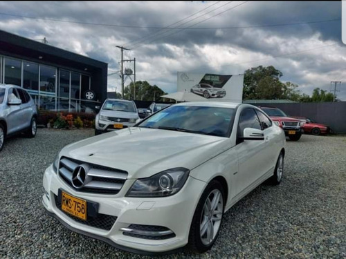 Mercedes-benz Clase C 2012 1.8 Cgi Coupe 204 Hp