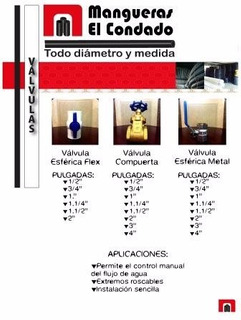 Válvulas Manguera-pvc-accesorios 0984255858
