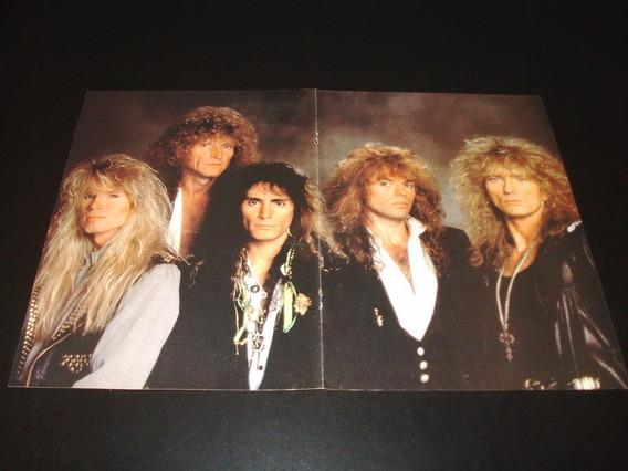 Poster Whitesnake * 2 Paginas (j098)