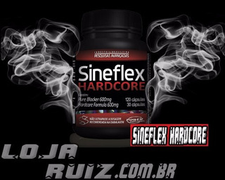 Sineflex Hardcore - Power Supplements 150 Cápsulas