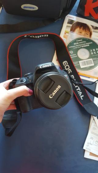 Câmera Canon T3i + Lente + Cartão De 32gb + Bolsa