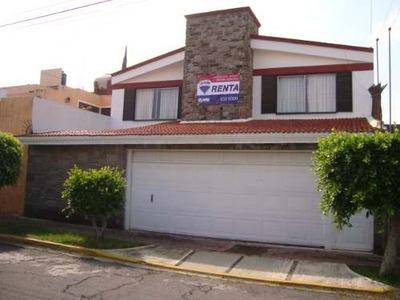 -- Rcr073e-287 -- Casa En Renta De 4 Recamaras, En La Col