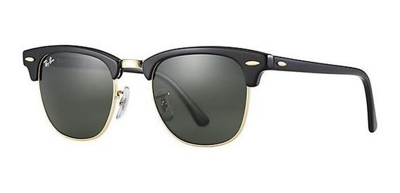 Óculos Rayban Clubmaster Original Com Caixa E Case