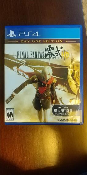 Final Fantasy Type Hd O - Ps4