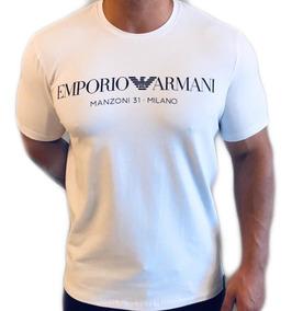 Camiseta Armani Jeans Exchange Original Importada