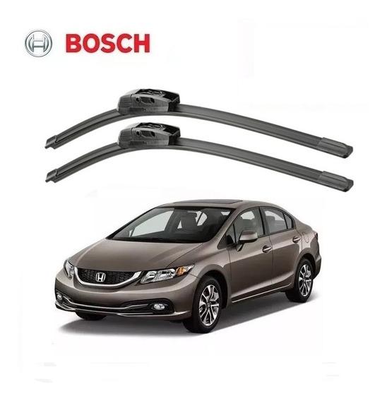 Palheta Aerofit Honda Civic 2012 2013 2014 2015 2016 Bosch