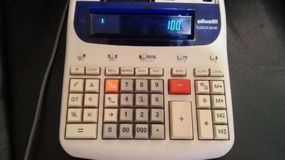 Calculadora Olivetti Logos 664b - Leia A Descrição Pelo Amor