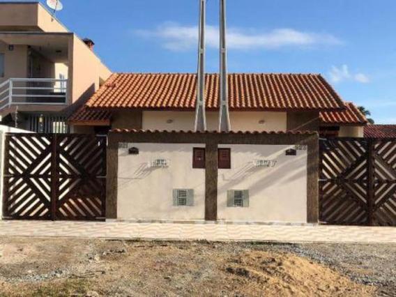Casa No Jd. Guacyra Em Itanhaém,confira! 5596 J.a
