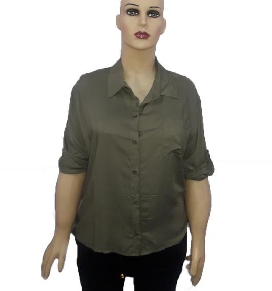 Camisas De Fibrana. Talle M-l-xl-2xl. Colores