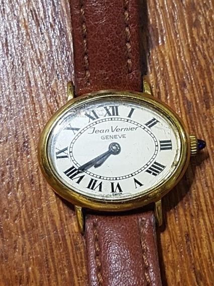 Relógio Original Jean Vernier Corda 27x20mm