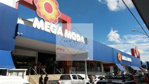 Imagem 1 de 12 de Oportunidade ! 1 Loja A Venda No Mega Moda ! - 6616
