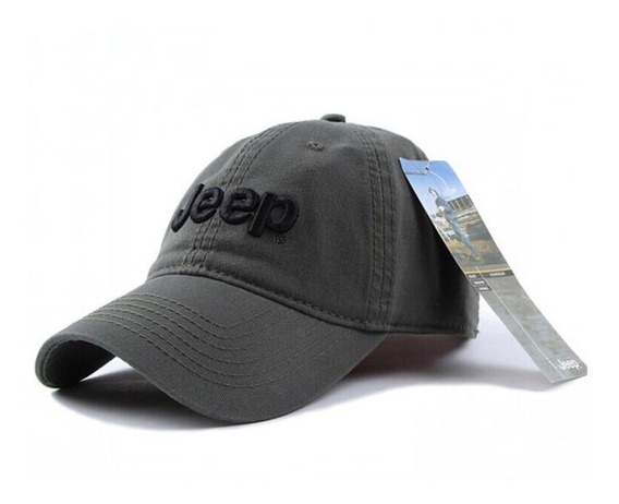 Gorra Jeep Ajustable · Gabardina · 100% Original