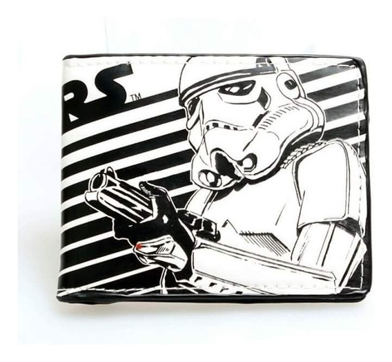Cartera Billetera Stormtrooper Star Wars Peliculas Lucas