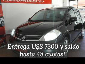Nissan Tiida Hb 1.8 Extra Full Financio Hasta 48 Cuotas!