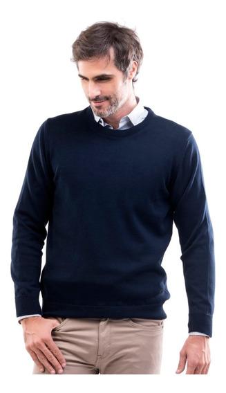 Sweater Goodrich Daniel Hechter Classic Fit Liso Cuello Redo