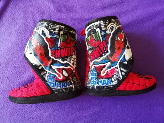 Botas Pantuflas Spiderman Para Niño