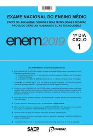 Simulado Enem Ciclo 1 Prova Poliedro 2019
