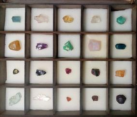 Kit / Coleção Com 20 Gemas (pedras Preciosas)