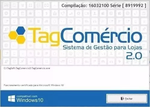 Tagcomercio 2.0 Versão Aceita 99 Pc Ddv Original Com Suporte