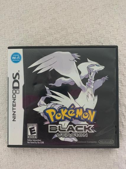 Jogo Pokémon Black 100% Original Nintendo Ds Completo