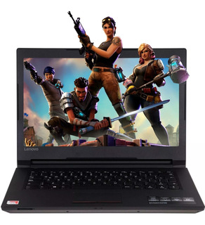 Laptop Gamer Lenovo Amd A6 9220 8gb 500gb Radeon R5 Fornite