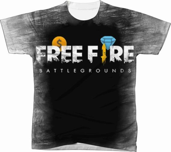 Camiseta Camisa Personalizada Free Fire Jogo Game Ref 08