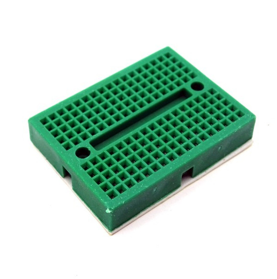 Mini Protoboard Bread Board Eletronica 170 Pontos Furo Pinos