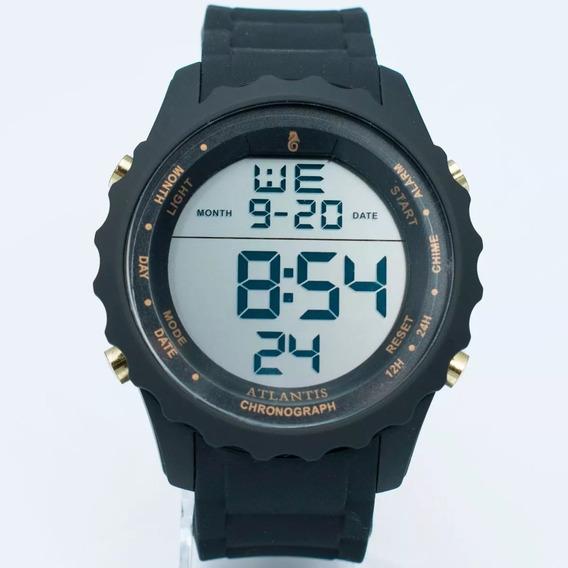 Relógio Original Atlantis Estilo 18k Digital Lançamento