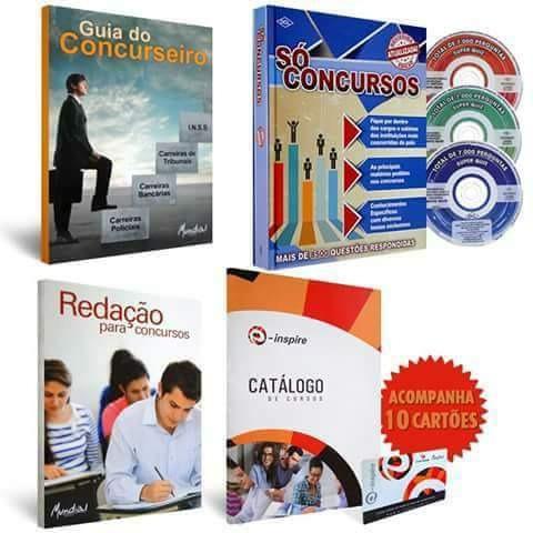 Exemplares Para Concurso Completo Com Redacao E Video Aulas