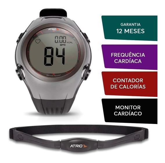 Relogio E Monitor Cardíaco Fitness Sport Prova D