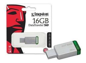 Pen Drive Usb 3.0 Kingston Dt50/16gb Original 16 Gb Lacrado