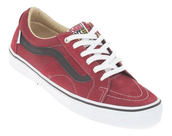 Tênis Vans M Av Native American Low Bordo 6735 Original