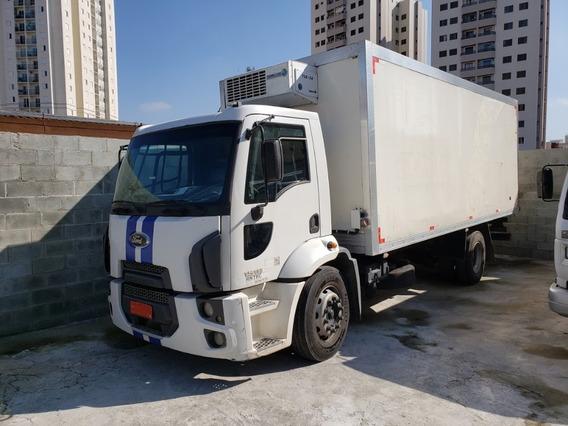 Ford Cargo 1519 Ano 2013 Bau Frigorífico Unico Dono