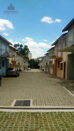 Sobrado Residencial À Venda, Condomínio Fechado,  Jardim Da Granja, São José Dos Campos. - So0288