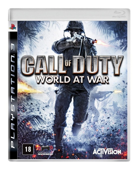 Jogo Ps3 Call Of Duty World At War - Seminovo - Game Ps3